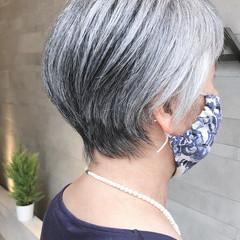 ショート ショートボブ くびれボブ オシャレ ヘアスタイルや髪型の写真・画像