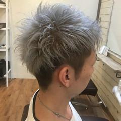 モテ髪 ショート ストリート メンズ ヘアスタイルや髪型の写真・画像