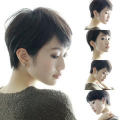 外国人風カラー こなれ感 小顔 大人女子 ヘアスタイルや髪型の写真・画像