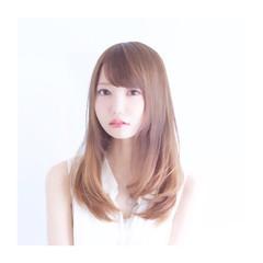 大人かわいい グラデーションカラー ナチュラル 外国人風 ヘアスタイルや髪型の写真・画像