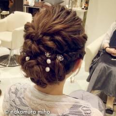 モテ髪 フェミニン ヘアアレンジ コンサバ ヘアスタイルや髪型の写真・画像