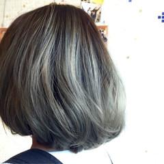 アッシュ ストリート グラデーションカラー 渋谷系 ヘアスタイルや髪型の写真・画像