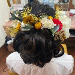 成人式ヘア 成人式 ヘアセット ロング ヘアスタイルや髪型の写真・画像