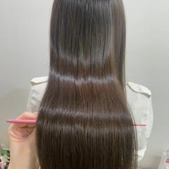 レイヤーカット 髪質改善 ナチュラル 髪質改善トリートメント ヘアスタイルや髪型の写真・画像