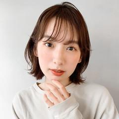 ゆるふわセット インナーカラーパープル インナーカラーグレー インナーカラーグレージュ ヘアスタイルや髪型の写真・画像