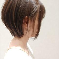 ナチュラル ショート ショートボブ ヘアスタイルや髪型の写真・画像