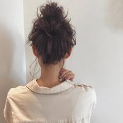 ミディアム 謝恩会 成人式 簡単ヘアアレンジ ヘアスタイルや髪型の写真・画像