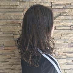 ミディアム 秋 外国人風 透明感 ヘアスタイルや髪型の写真・画像
