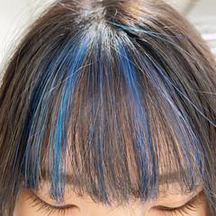 コントラストハイライト フェミニン 極細ハイライト 3Dハイライト ヘアスタイルや髪型の写真・画像