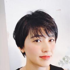 ショート 比留川游 小顔 大人女子 ヘアスタイルや髪型の写真・画像