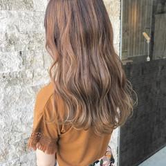 ヘアアレンジ ナチュラル 外国人風カラー ブラウン ヘアスタイルや髪型の写真・画像
