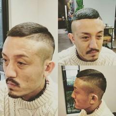 黒髪 ショート メンズ ボーイッシュ ヘアスタイルや髪型の写真・画像