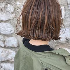 ボブ 外国人風 モード ワンレングス ヘアスタイルや髪型の写真・画像