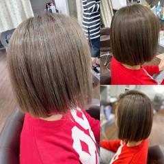 モード ショートヘア 3Dハイライト コントラストハイライト ヘアスタイルや髪型の写真・画像