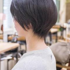 ショート 大人かわいい フェミニン ショートボブ ヘアスタイルや髪型の写真・画像