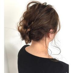 デート ヘアアレンジ 涼しげ 色気 ヘアスタイルや髪型の写真・画像
