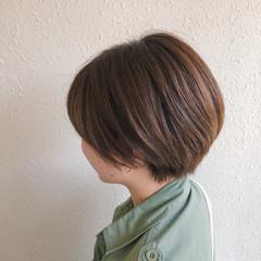ショート ミニボブ 大人ショート ショートヘア ヘアスタイルや髪型の写真・画像