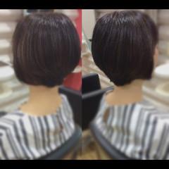 ショートボブ 髪質改善トリートメント ショート ベリーショート ヘアスタイルや髪型の写真・画像