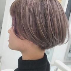 ナチュラル ブリーチ ハイライト ハイトーン ヘアスタイルや髪型の写真・画像
