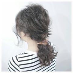 黒髪 ショート ロング ヘアアレンジ ヘアスタイルや髪型の写真・画像
