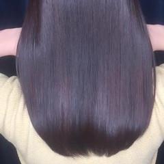 パーマ 内巻き セミロング コンサバ ヘアスタイルや髪型の写真・画像