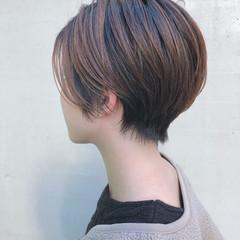 ショート ナチュラル 簡単スタイリング ショートヘア ヘアスタイルや髪型の写真・画像