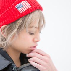 外国人風 ゆるふわ 簡単ヘアアレンジ ウェーブ ヘアスタイルや髪型の写真・画像