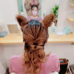 ヘアアレンジ 簡単ヘアアレンジ 大人ヘアスタイル 編み込み ヘアスタイルや髪型の写真・画像