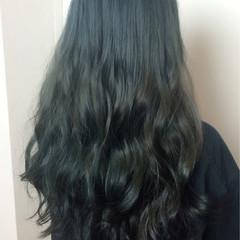 ハイライト 暗髪 ヘアアレンジ モード ヘアスタイルや髪型の写真・画像