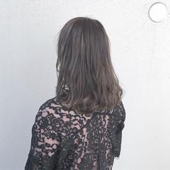 ブリーチ コンサバ 外国人風 ミディアム ヘアスタイルや髪型の写真・画像