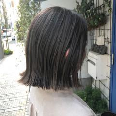 ナチュラル ハイライト ミニボブ ボブ ヘアスタイルや髪型の写真・画像
