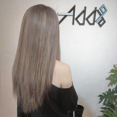 ブリーチオンカラー ラベージュ ガーリー ロング ヘアスタイルや髪型の写真・画像