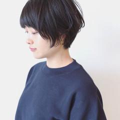 大人女子 オフィス 黒髪 ナチュラル ヘアスタイルや髪型の写真・画像