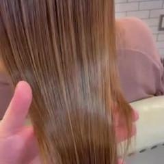最新トリートメント ナチュラル ロング 艶髪 ヘアスタイルや髪型の写真・画像