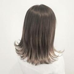 ヘアアレンジ 外国人風 ミディアム ナチュラル ヘアスタイルや髪型の写真・画像