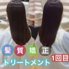 髪質改善 うる艶カラー 髪質改善カラー ロング ヘアスタイルや髪型の写真・画像
