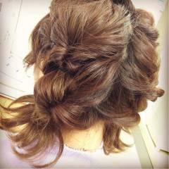 ヘアアレンジ 簡単 ストリート ガーリー ヘアスタイルや髪型の写真・画像