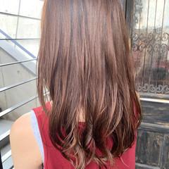ヘルシースタイル デジタルパーマ レイヤーカット ヘルシー ヘアスタイルや髪型の写真・画像