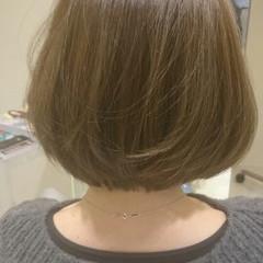 艶髪 大人かわいい アッシュベージュ コンサバ ヘアスタイルや髪型の写真・画像