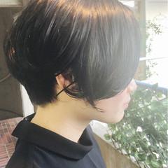 ナチュラル 黒髪 リラックス 斜め前髪 ヘアスタイルや髪型の写真・画像