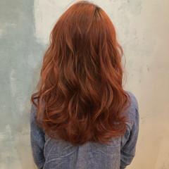 外国人風カラー 暗髪 ストリート ロング ヘアスタイルや髪型の写真・画像