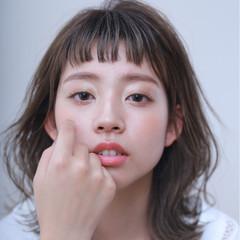 女子力 ゆるふわ ナチュラル アウトドア ヘアスタイルや髪型の写真・画像