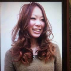 愛され 外国人風 ナチュラル グラデーションカラー ヘアスタイルや髪型の写真・画像