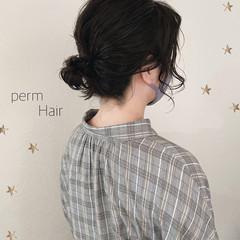 ボブ ウルフカット ストリート パーマ ヘアスタイルや髪型の写真・画像