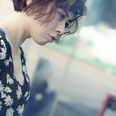 ハンサム 大人女子 アンニュイほつれヘア ヘアアレンジ ヘアスタイルや髪型の写真・画像