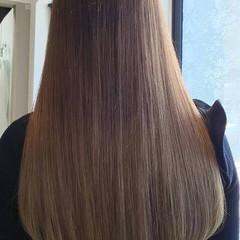 春 ロング 外国人風 ハイライト ヘアスタイルや髪型の写真・画像