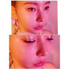 レッド ヘアアレンジ 大人かわいい ピンク ヘアスタイルや髪型の写真・画像