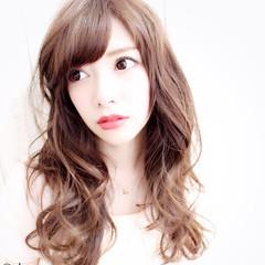 大人かわいい フェミニン ハイライト モテ髪 ヘアスタイルや髪型の写真・画像