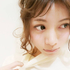 ヘアアレンジ ラフ ヘアピン ヘアアクセ ヘアスタイルや髪型の写真・画像