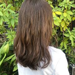 パーマ アッシュベージュ ガーリー シアーベージュ ヘアスタイルや髪型の写真・画像